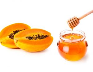 papaya-and-honey-pack